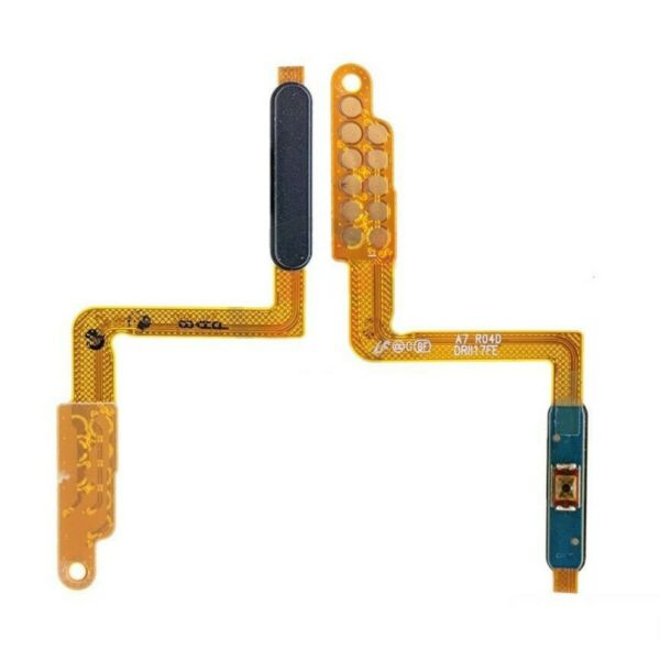 Flex cable Power ON OFF +Button Fingerprint For Samsung Galaxy A750F A7 2018