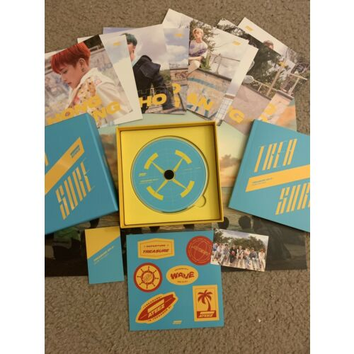 **UPDATED** ATEEZ Treasure EP. 3 Album Wave Illusion (EVERYTHING ex. member PCs)