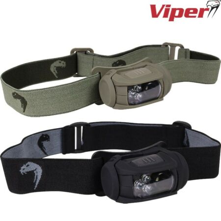 img-VIPER TACTICAL SPECIAL OPS HEAD TORCH WHITE RED LED LIGHT MOLLE CADET ARMY