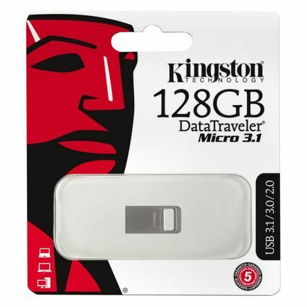 KINGSTON PENDRIVE DATATRAVELER 128GB USB 3.1 DTMC3/128GB