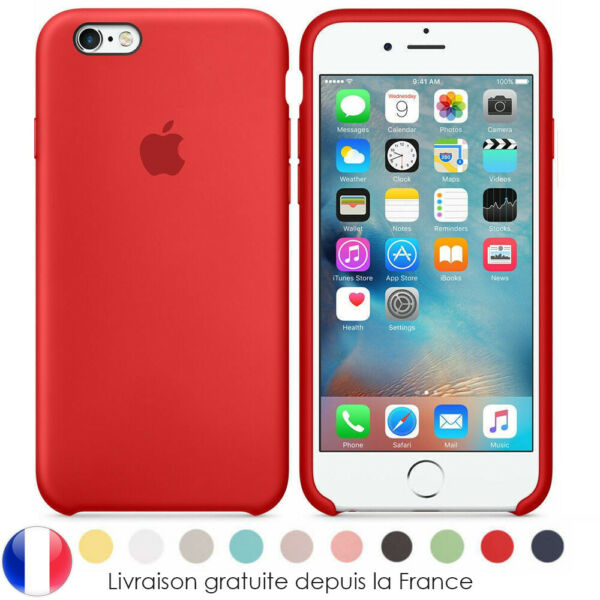 Case Coque Silicone Apple iPhone X XR XS MAX 8 6 7 Plus Etui aux choix