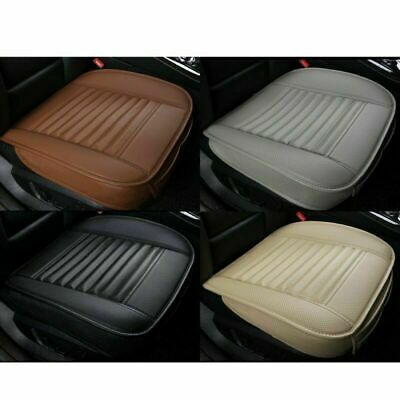 Universal 3D Car Seat Cover Pad Mat for Auto Breathable PU Leather Chair Cushion
