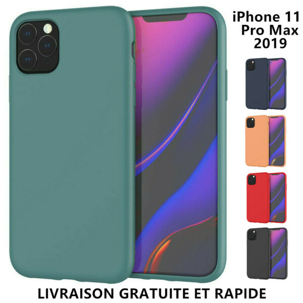 Case Pour iPhone 11/ 11Pro Max Coque Slim Protector Shockproof Soft Cover Matte