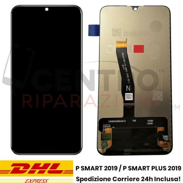 DISPLAY LCD TOUCH SCREEN PER HUAWEI P SMART 2019 PLUS POT-LX1 POT-LX2 SCHERMO
