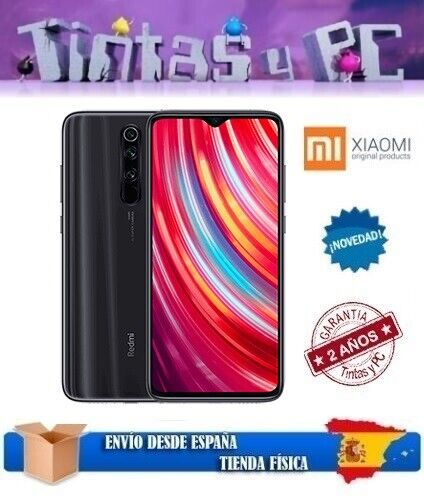 XIAOMI REDMI NOTE 8 PRO 128GB NEGRO.6GB RAM.MTK HELIO G90T.VERSION GLOBAL ESPAÑA