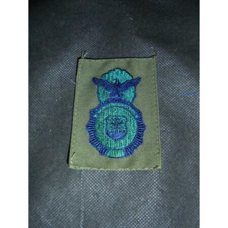 img-1970/80s US Air Force Security Police Cloth Combat Insignia Badge