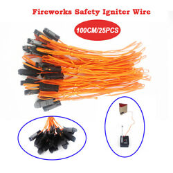 Kyпить 25 pcs 1M safety Igniter E Match Wire for Fireworks Firing System electric wire на еВаy.соm