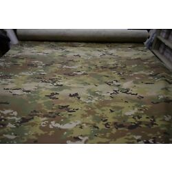 2 YD PIECE OCP MULTICAM NY/CO RIPSTOP CAMOUFLAGE FABRIC MILITARY 6.5 OZ 64''W