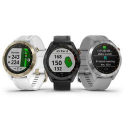 Kyпить Garmin Approach S40 GPS Rangefinder Golf Watch - 2019 Gray, White, or Black на еВаy.соm