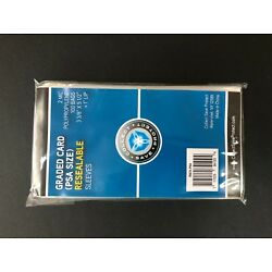 Kyпить PSA Graded Card Poly Bags 100 Sleeves SNUG FIT PSA SKIN TIGHT FOR PSA SLABS NEW на еВаy.соm