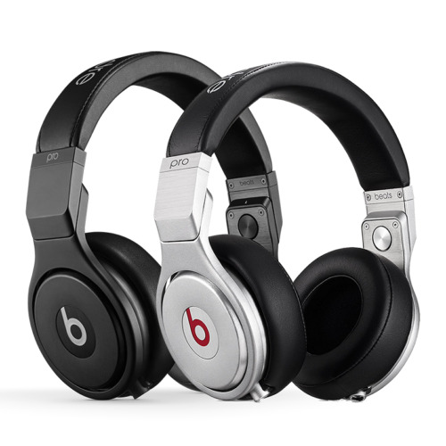 Beats Pro Over-Ear Headphones Wired w/ Remote Mic Black or Silver