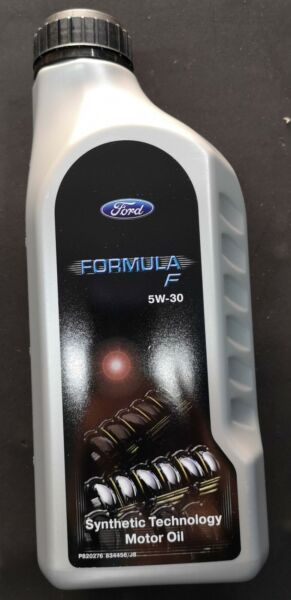 4 LITRI (1 lt x 4) olio motore FORD FORMULA F SAE 5W-30 SYNTHETIC TECHNOLOGY