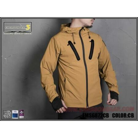 img-Jacket Hattori Skin Windbreaker Coyote Brown Size S Emersongear
