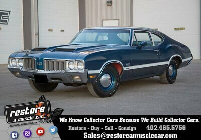 1970 Oldsmobile 442 W30 / W27 - 4 Speed, Only 2,305 Miles, 1 of 142