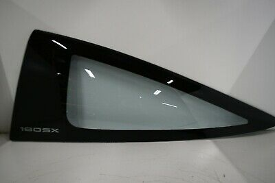 JDM NISSAN 180SX OEM LEFT SIDE QUARTER GLASS 180SX SR20DET