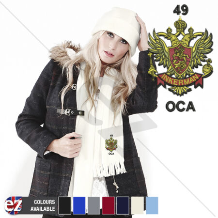img-49 Inkerman - Scarf - With Embroidered Badge