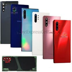 For Samsung Galaxy Note 10/Note10+ Replacement Back Glass+Camera Lens+IP68 Tape