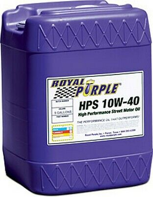 Royal Purple Multi-Grade Motor Oil 10w40 5 Gallon Pail HPS