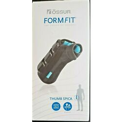 Ossur Formfit Thumb Spica Gamekeeper's Thumb 8 In XL Left Tendonitis Support