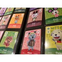 Animal Crossing Amiibo Series 3 Cards #201-300 Mint, Authentic! (Choose cards)