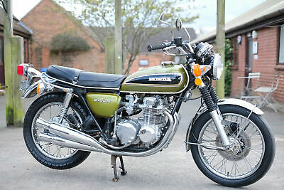 Honda CB550 K CB 550 K 1975 with just 5959 genuine miles!! Runs and rides!