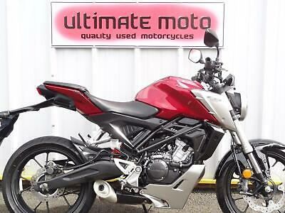 2018 18 Honda CB125R LEARNER LEGAL BIG BIKE LOOKS