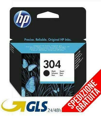 CARTUCCIA HP 304 ORIGINALE BLACK NERO INK-JET PER HP Deskjet 3720 3730 3732