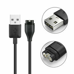 Garmin Forerunner 245 Charger Replacement Charging Charge Cable Cord USB (Black)