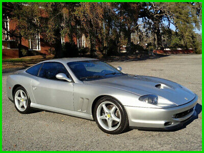 2001 Ferrari 550 All Numbers Matching Coupe