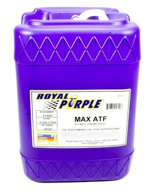 Royal Purple Transmission Fluid - Max - ATF - Synthetic - 5 gal - Each