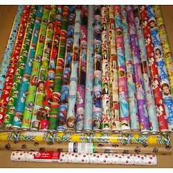 Kyпить HARD TO FIND GIFT WRAP WRAPPING PAPER ROLLS NEW на еВаy.соm