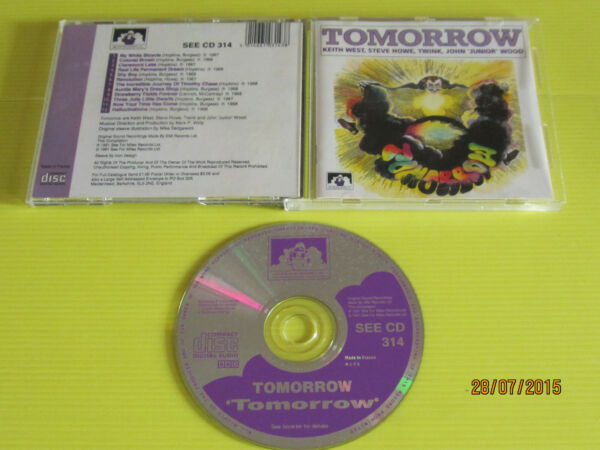 TOMORROW - TOMORROW- SEE FOR MILES REC. SEE CD 314 EX++/M BOOKLET 1991 UK