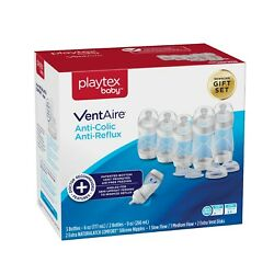 Kyпить Playtex Baby VentAire Anti-Colic Anti-Reflux Baby Bottle Newborn Gift Set на еВаy.соm