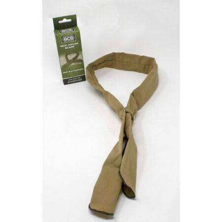 img-Brand New British Army Issue Desert Tan Hot Weather Reusable Neck Cooler Scarf