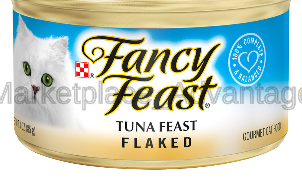 Purina Fancy Feast Adult Canned Wet Cat Food Flaked Tuna (24) 3 Oz. Cans