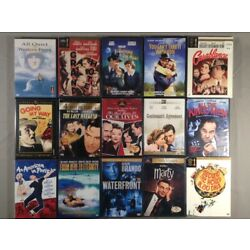 NEW, sealed DVDs: Classic films from the 1930s to the 2000s; combined shipping