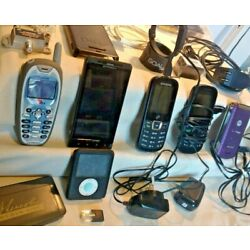 Kyпить LOT CELL PHONES CABLES CHARGERS GADGETS CASES PRE-OWNED MOSTLY VINTAGE 5LBS  на еВаy.соm