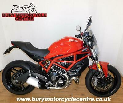 Ducati Monster 797. 2019. 1 Owner, Low Mileage. Stunning Condition.A2 Compatible