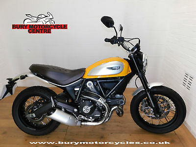 Ducati Scrambler Classic. 2017. 1 Owner. Only 139 Miles!!!