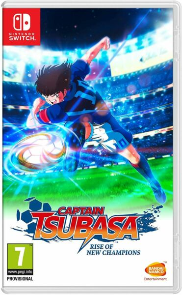 CAPTAIN TSUBASA RISE OF NEW CHAMPIONS SWITCH NUOVO ITALIANO PREVENDITA 28 AGOSTO