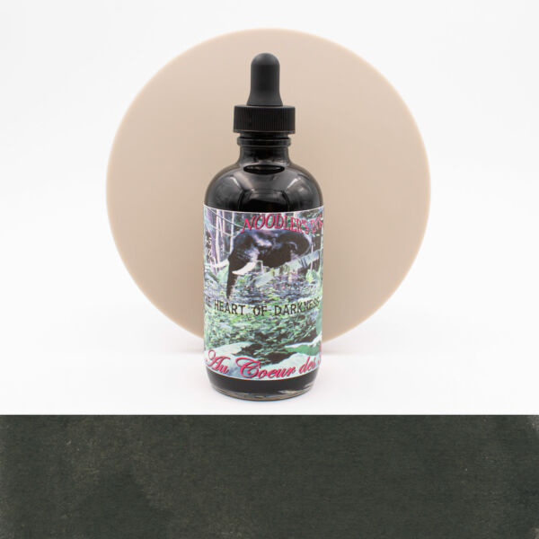Noodler's Heart of Darkness Inchiostro 4,5 oz con Penna