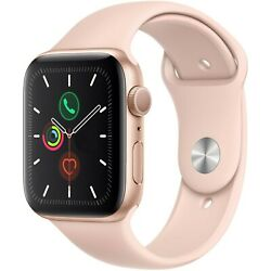 Kyпить Apple Watch Series 5 40mm Aluminum Gold Case Pink Sand Sport Band MWV72LL/A на еВаy.соm