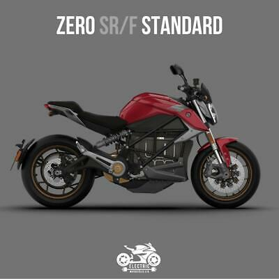ZERO SRF 2020 STANDARD 14.4kW, 3kW CHARGER, RED *PRICE DROP*