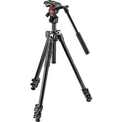 Kyпить Open-Box Excellent: Manfrotto - 290 Tripod with Fluid Video Head - Black на еВаy.соm