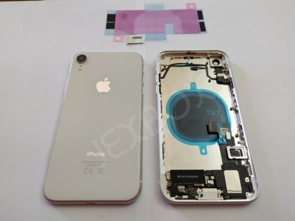 Back Cover Housing Scocca Posteriore + flex/tasti Completa iPhone XR BIANCO