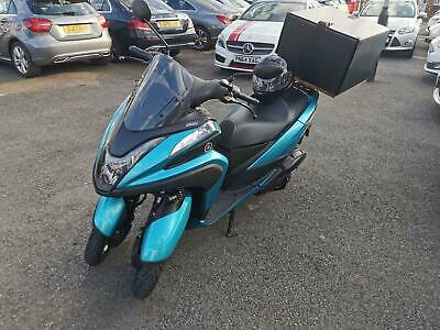 YAMAHA Tricity Single Blue Core Engine EU4 Entry 2017 Petrol Automatic in Blue