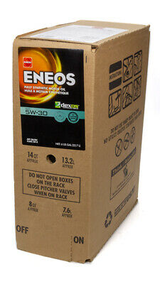 ENEOS Motor Oil - 5W30 - Synthetic - 6 gal - Each 3703-400