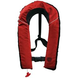 Kyпить SALVS Automatic / Manual Inflatable Life Jacket for Adults | RED Life Vest на еВаy.соm