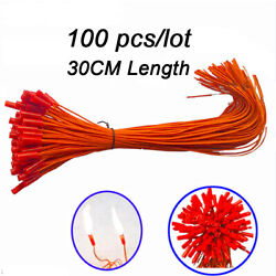 Kyпить 100 pcs/lot 11.81in Electric Wire Match Igniter for Fireworks Firing System на еВаy.соm