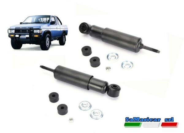 ItaliePair Front Shock s Compatible Nissan Pick-Up D21 4X2 1986->